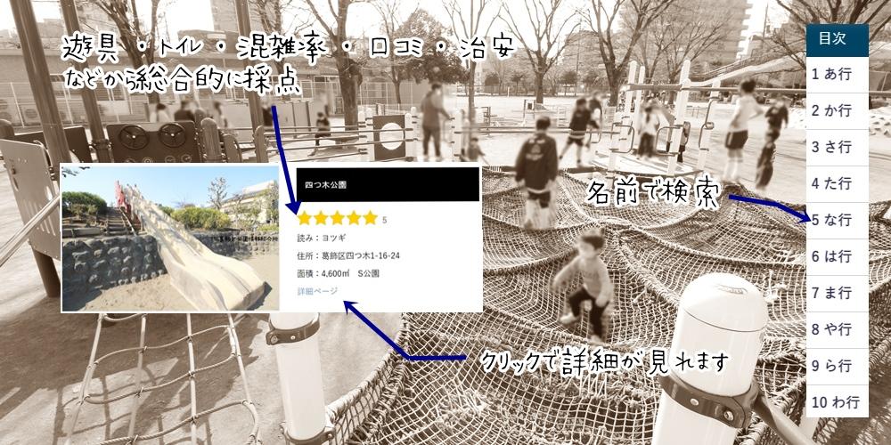 こちら葛飾区公園情報紹介所
